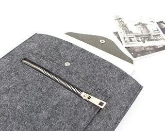Felt Macbook sleeve Macbook Air case Macbook Pro sleeve Macbook 11 13 15 Air Pro Sleeve Macbook Pro Retina sleeve customized order ZMY047DG
