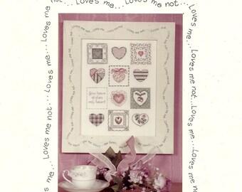 Sweet Hearts Cross Stitch Chart
