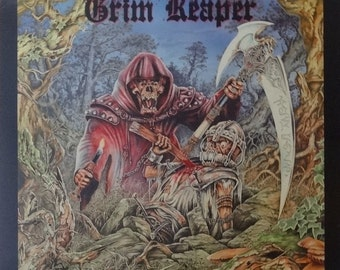 Grim Reaper 24x24 Rock You To Hell Promo Poster 1987