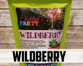 WILDBERRY Wine Slush| Margarita| Cocktail Party| Wine Gift| Party Favor| Hostess Gift| Cocktail Drink| Drink Mix| Memorial Day| Foodie