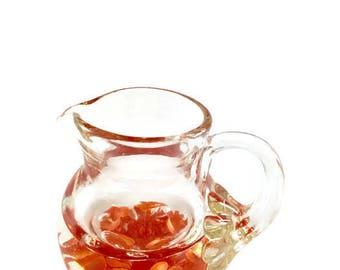 Vintage Pitcher, Vintage Paperweight, Art Glass, Pitcher Paperweight, Clair Paperweight, Vintage Office, Vintage Vase, Vintage Kitchen
