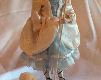 "Danbury Mint ""Little Bo Peep"" Porcelain Doll"