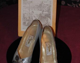 "Silver shoes ""Revalia 1950-size: 37.5"""