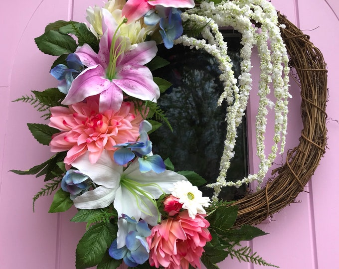 Lily Spring/ Summer wreath