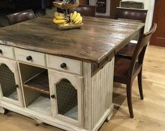 Rustic Kitchen Island Furniture