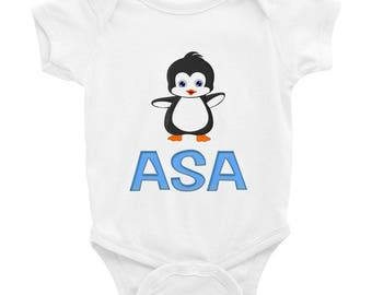 Asa Penguin Infant Bodysuit