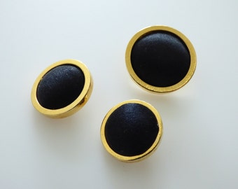 Chanel Vintage Stamped Button 18mm, 20mm , 24mm / Price is for one button