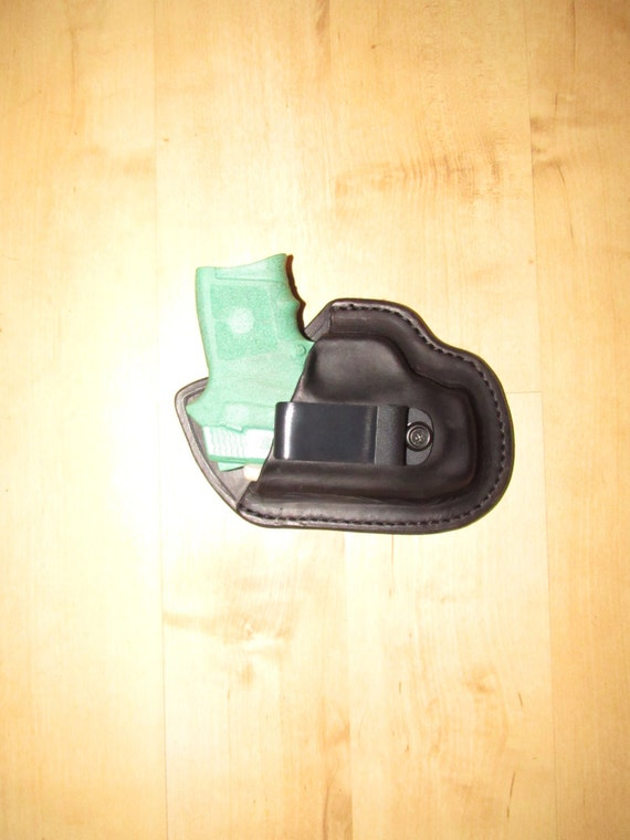 Leather Holster custom crafted for the Bodyguard 380 for EDC, IWB