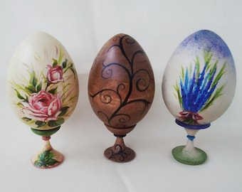 Easter Eggs in Vintage Style