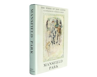 Mansfield Park - clean and crisp vintage edition of Jane Austen's classic with jacket - Free US Shipping