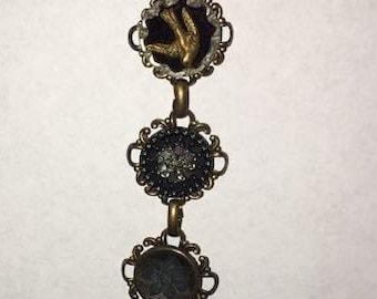 Rare Antique, Victorian Button Bracelet