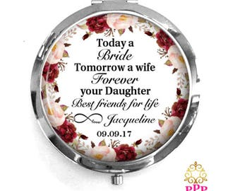 Mother of the Bride Compact Purse Mirror | Today a Bride | Style 765