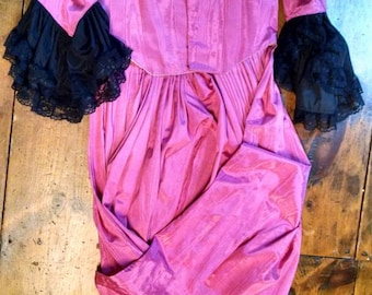 18th century Rose pink gown