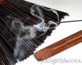Patchouli Incense sticks 20 pack Hand dipped, Air dried