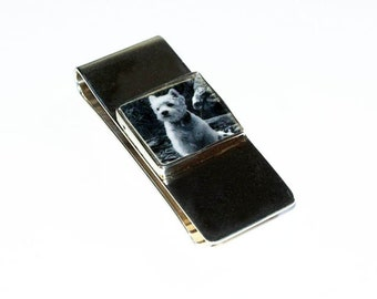 Sterling Silver Photo Money Clip