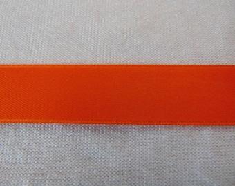 Double faced satin ribbon, tango (S-0039)