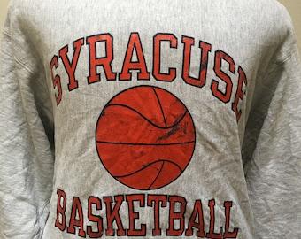 Vintage Champion Syracuse Basketball Sweater