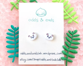 Puppycat Earring Studs