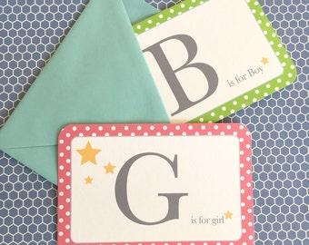 Gender reveal cards, gender reveal idea, gender reveal party, gender reveal shower, twinkle twinkle little star, nursery art print, decor