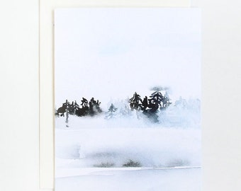 Frost - A2 Greeting Card