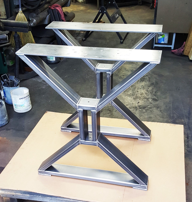 Modern, Dining Table X Legs, Model #TTS09C, Heavy Duty