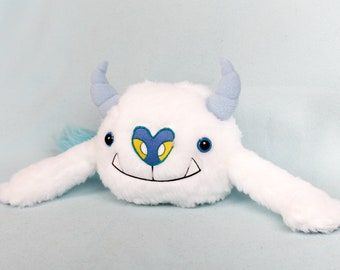 Snowglobe Yeti Handmade Soft Toy Plushie