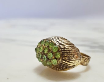 1960's Costume Jewelry Statement Ring