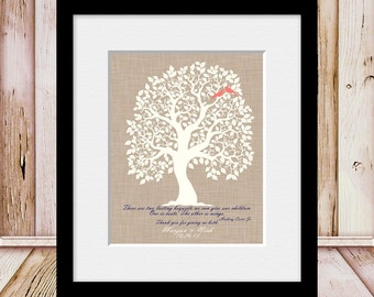 Unique Wedding Day Gift for Our Parents, Thank You For Giving Us ROOTS and WINGS, Thank You Parent Wall Print, Keepsake Gift for Our Parents
