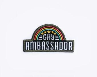Gay Ambassador Patch