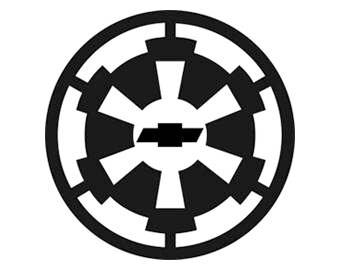 CHEVY Star Wars Empire Emblem