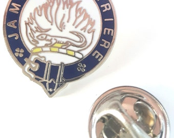 Scotland Douglas Clan Name Enamel Lapel Pin Badge