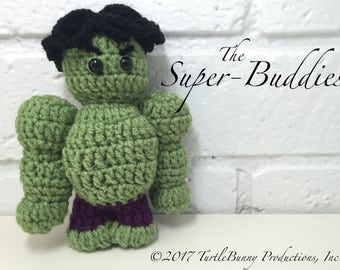 Hulk Superhero Inspired Nerd Crochet