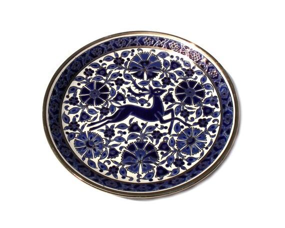 Vintage Greek Handmade Wall Plate