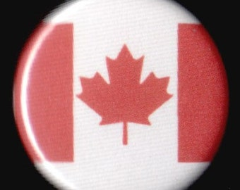 Oh Canada 1.25 Inch Button