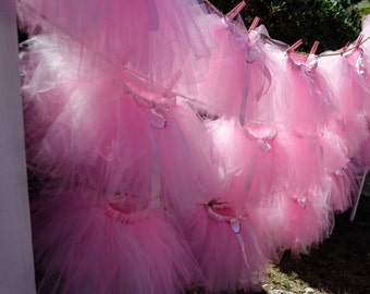 Tutu Party Pack (Set of 10) Any Color, Tutu Party, Ballerina Party, Tutus, Party Favors, Ballerina, Pink Tutu