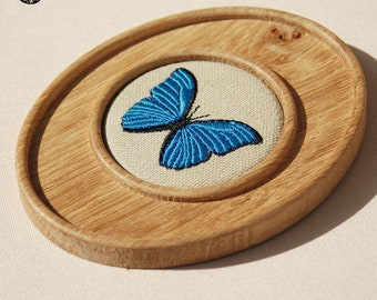 Small decoration Embroidered butterfly