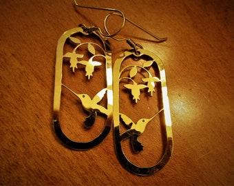 Vintage Wild Bryde Hummingbird Earrings