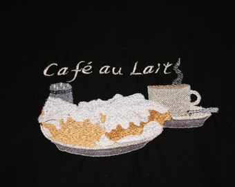 Cafe au Lait embroidery design