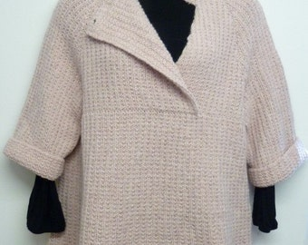 pdf pattern for an Everyday Tunic by Elizabeth Lovick in ColourMart chunky cashmere - instant download