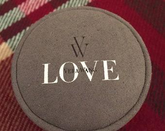Beautiful Vera Wang LOVE collection diamond engagement and wedding ring se