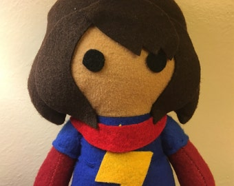 Kamala Khan Ms.Marvel Fleece Plush Doll