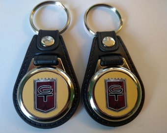 Ford Mustang Gt Keychain  Pack Springtime Yellow