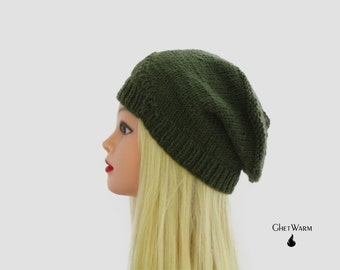 Big Little Hats, Womens Beanies, Cheap Beanie, Heat Hat, Ladies Crochet Beanie, Green Beanie, Slouchy Beanie, Beanie Hat, Crochet Beanie