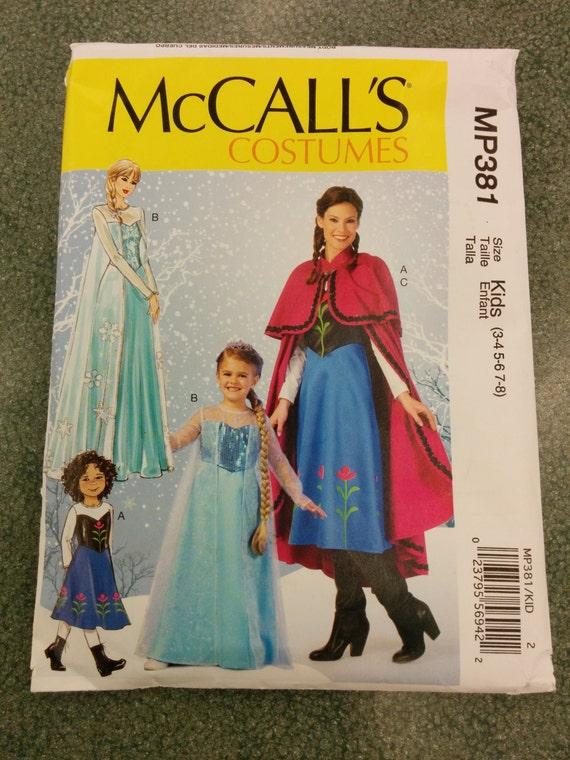 Kinder Kids eingefroren Königin Elsa und Prinzessin Anna Nähen