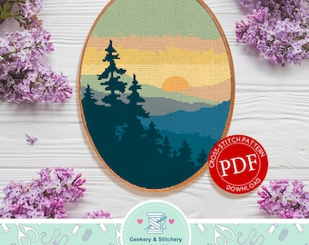 North Carolina | Digital Download | Cross Stitch Pattern |