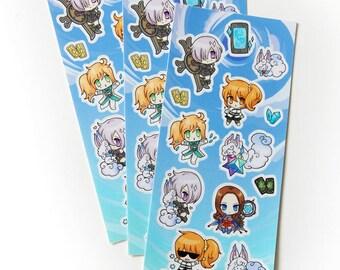 Fate FGO Mash Sticker Sheet