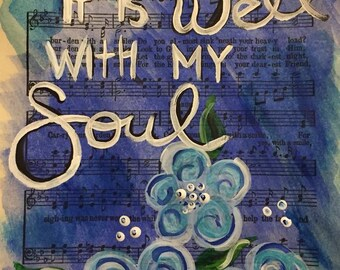 It Is Well Hymnal Painting