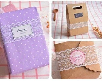 10m 2.5cm White Lace Fabric Ribbon Wedding Baby Shower Favours Bomboniere Embellishment Vintage Gift Wrapper Scrapbooking Invitation Card