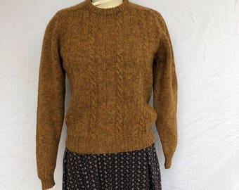 Marled Virgin Wool Sweater