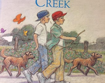 Walking To the Creek By David Williams Vintage Children's Book